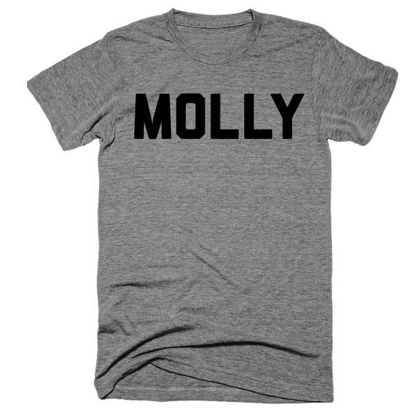 Molly | Unisex Gray T-Shirt | Eternal Weekend - 1