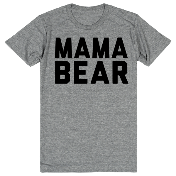 Mama Bear | Unisex Gray T-Shirt | Eternal Weekend - 1