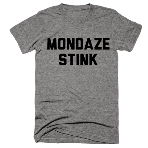 Mondaze Stink | Unisex Gray T-Shirt | Eternal Weekend - 1