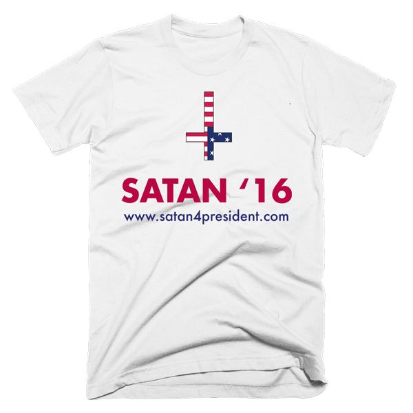 Satan '16 | Unisex White T-Shirt | Eternal Weekend - 1