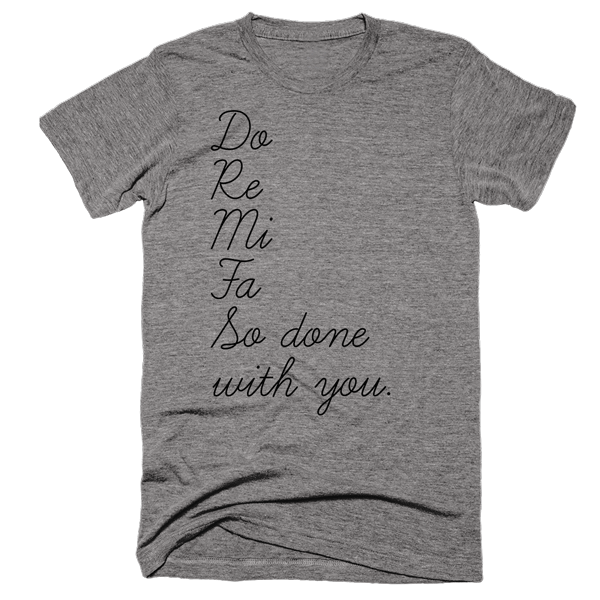 So Done With You | Unisex Gray T-Shirt | Eternal Weekend - 1