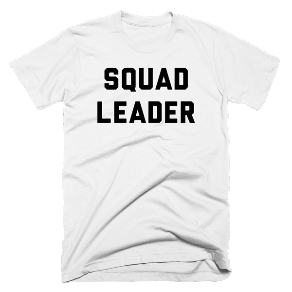 Squad Leader | Unisex White T-Shirt | Eternal Weekend - 1