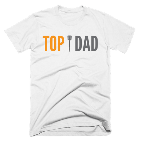 Top Dad | Unisex White T-Shirt | Eternal Weekend - 1