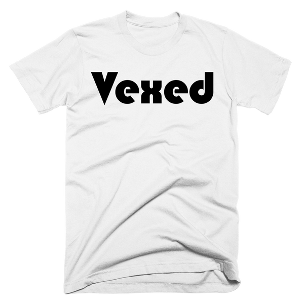Vexed | Unisex White T-Shirt | Eternal Weekend - 1