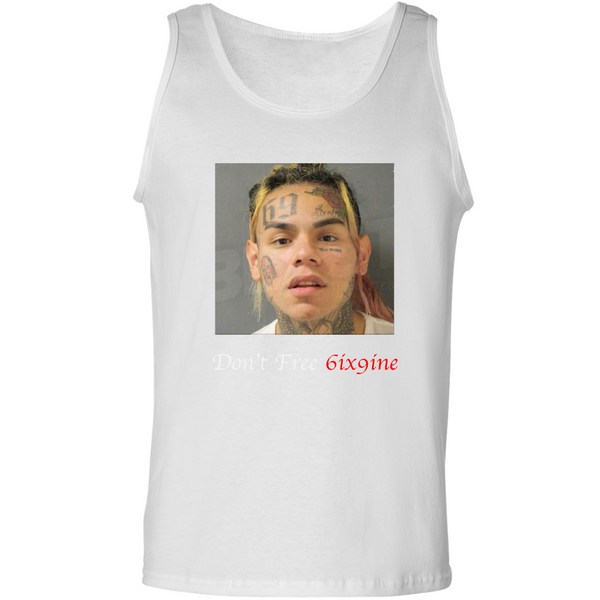 Don't Free 6ix9ine -  Ultra Cotton Tank Top - JG