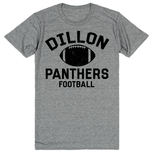 Dillon Panthers Football Fan Shirt - Friday Night Lights | Unisex Gray T-Shirt | Eternal Weekend - 1