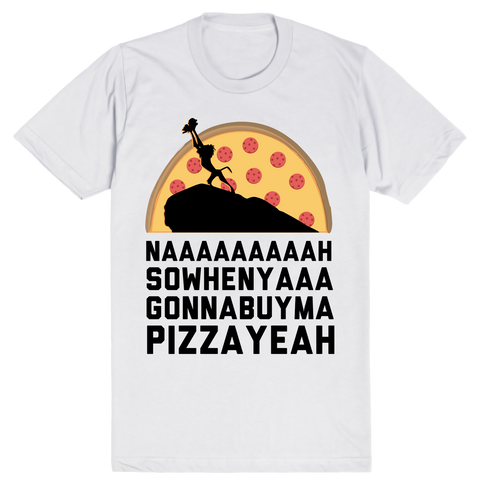 Ba Sowenya - Lion King Pizza | Unisex White T-Shirt | Eternal Weekend - 1
