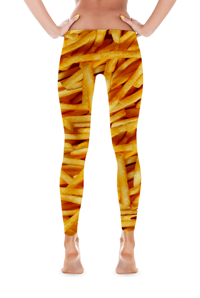 French Fry Leggings | Leggings | Eternal Weekend - 1