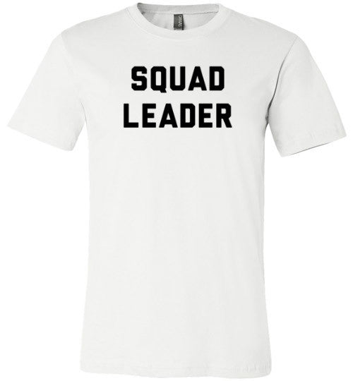 Squad Leader | Unisex White T-Shirt | Eternal Weekend - 3