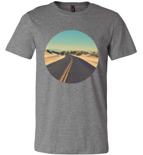 The Road To Freedom T-Shirt | Unisex Gray T-Shirt | Eternal Weekend - 1