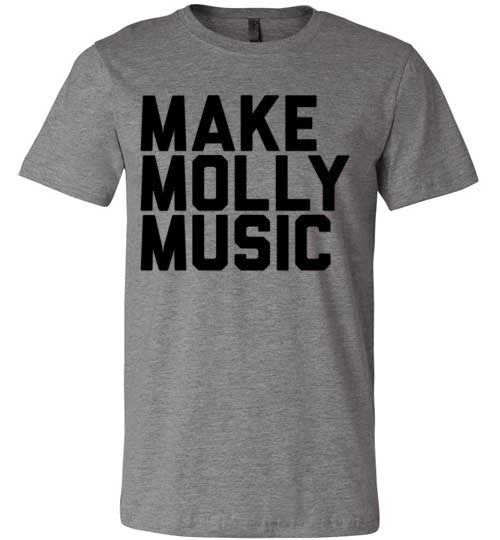 Make Molly Music | Unisex Gray T-Shirt | Eternal Weekend - 3