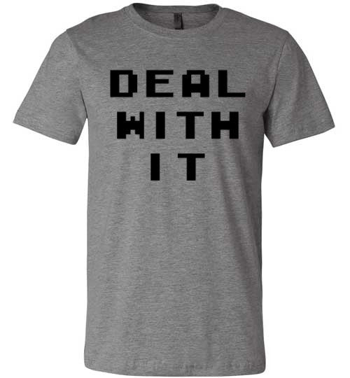 Deal With It | Unisex Gray T-Shirt | Eternal Weekend - 4
