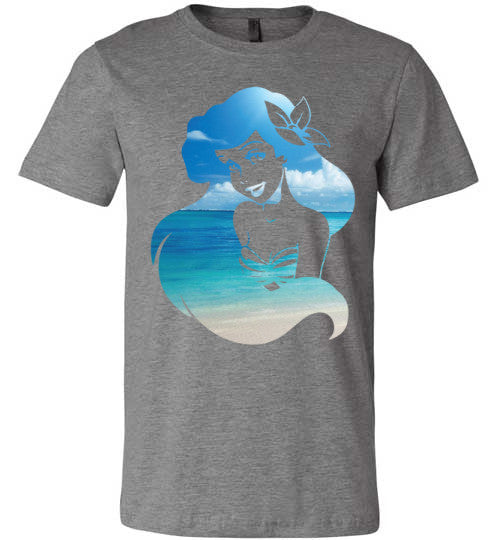 Beach Mermaid | Unisex White T-Shirt | Eternal Weekend - 3