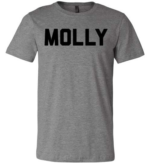 Molly | Unisex Gray T-Shirt | Eternal Weekend - 5