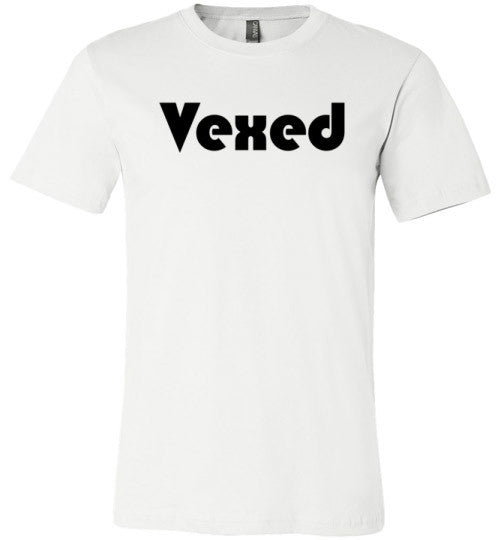 Vexed | Unisex White T-Shirt | Eternal Weekend - 2