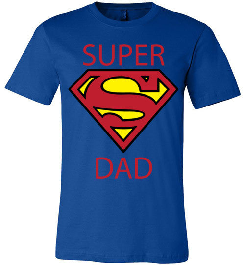 Super Dad | Unisex Blue T-Shirt | Eternal Weekend - 1