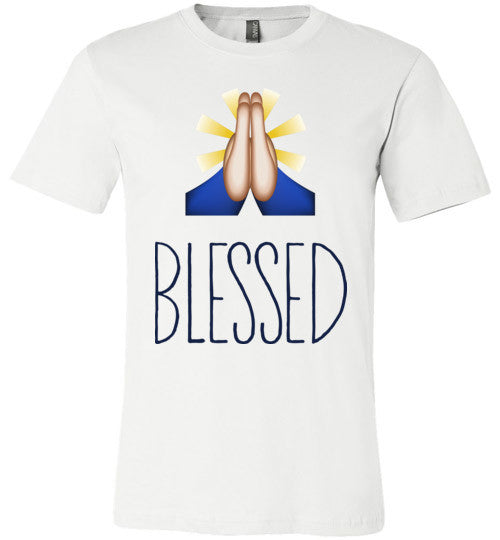 Blessed | Unisex White T-Shirt | Eternal Weekend - 3