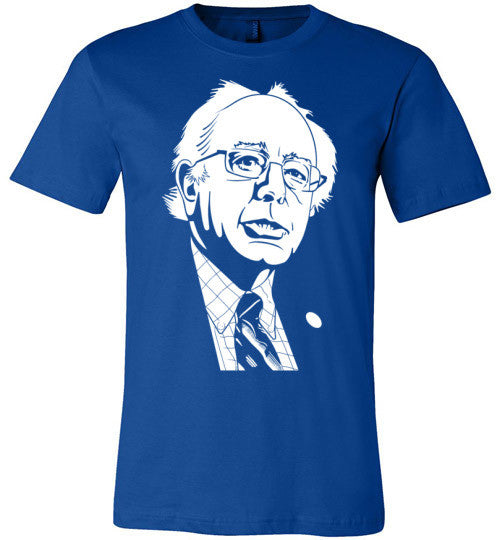 Bernie Sanders Profile | Unisex Blue T-Shirt | Eternal Weekend - 1