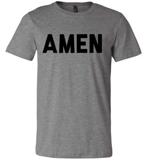 Amen | Unisex Gray T-Shirt | Eternal Weekend - 2