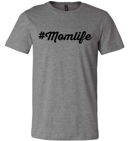 #Momlife | Unisex Gray T-Shirt | Eternal Weekend - 11
