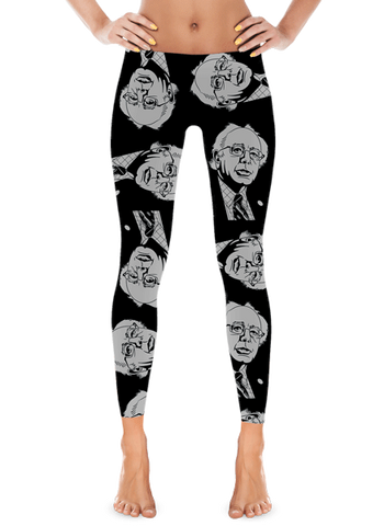 Bernie Sanders Leggings Black | Leggings | Eternal Weekend - 1