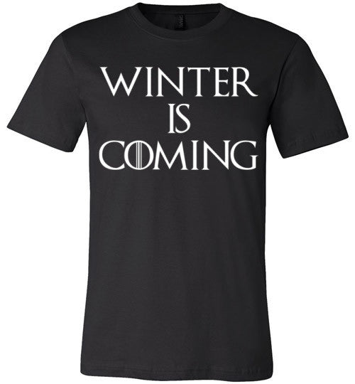 Winter Is Coming | Unisex Black T-Shirt | Eternal Weekend - 2