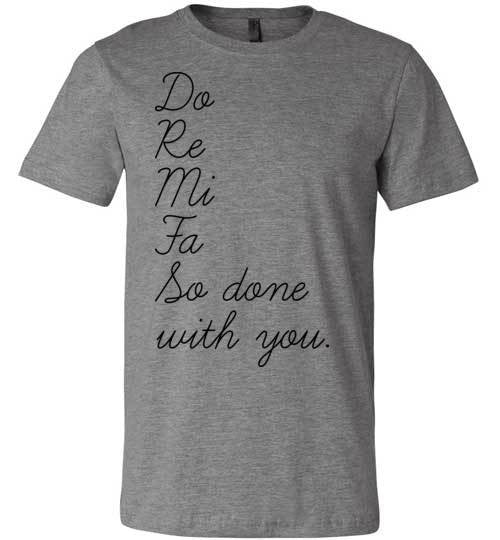 So Done With You | Unisex Gray T-Shirt | Eternal Weekend - 3