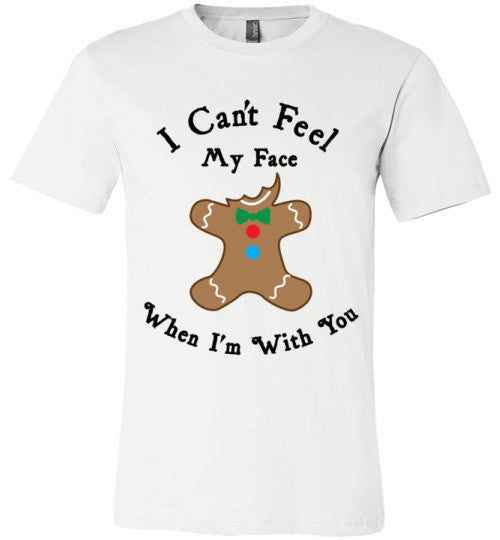 I Can't Feel My Face When I'm With You (Cookie) | Unisex Gray T-Shirt | Eternal Weekend - 2