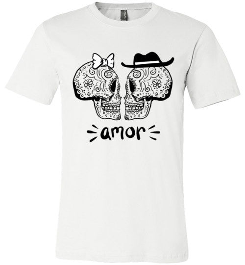 True Love Never Dies (Amor) | Unisex White T-Shirt | Eternal Weekend - 2