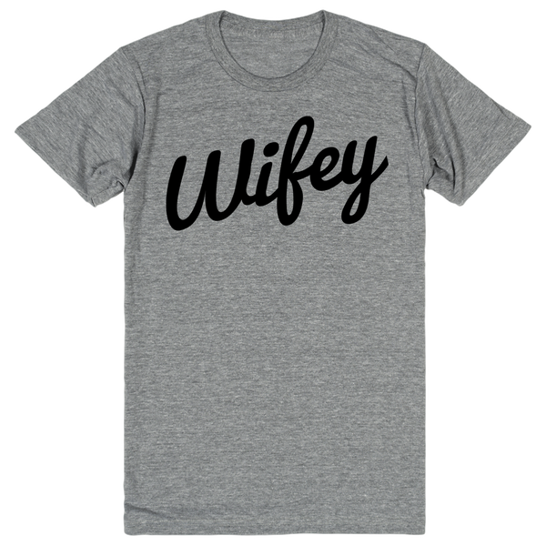 Wifey (1 of 2 Couples Shirts) | Unisex Gray T-Shirt | Eternal Weekend - 1