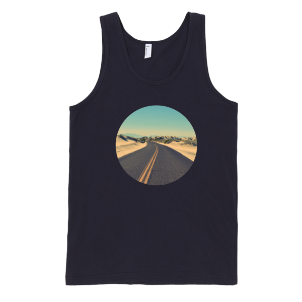 The Road To Freedom Tank Top | unisex coral Tank | Eternal Weekend - 3