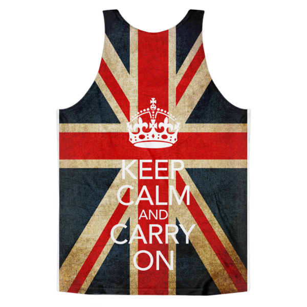 Keep Calm And Carry On Tank | All-Over Tank | Eternal Weekend - 2