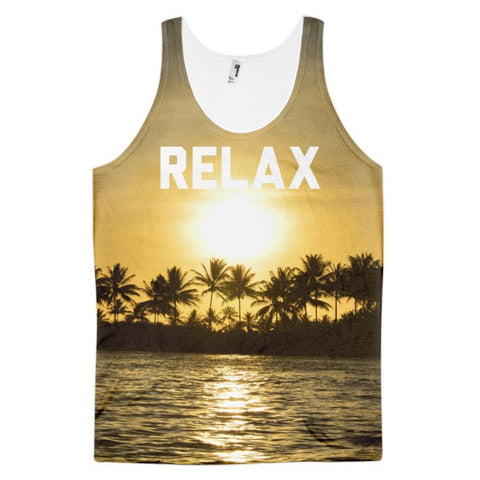 Relax Tank | All-Over Tank | Eternal Weekend - 1