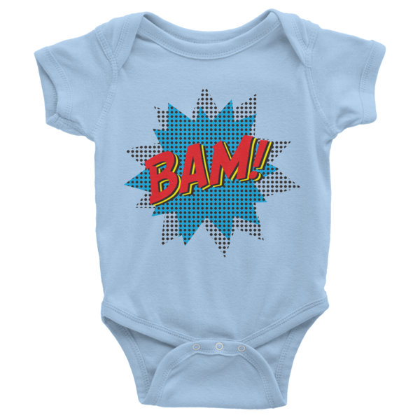 BAM Infant short sleeve onesie | Onsies | Eternal Weekend - 2