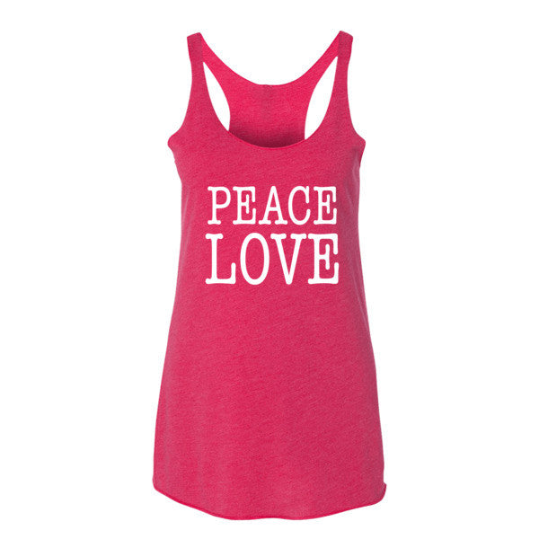 Peace Love Women's tank top | Women's Tank | Eternal Weekend - 6