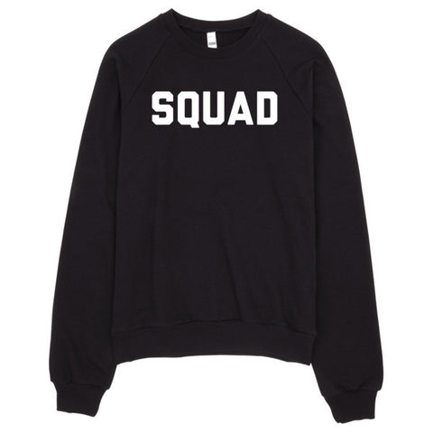 Squad Sweater | Unisex Crewneck Sweatshirt - Black | Eternal Weekend - 1
