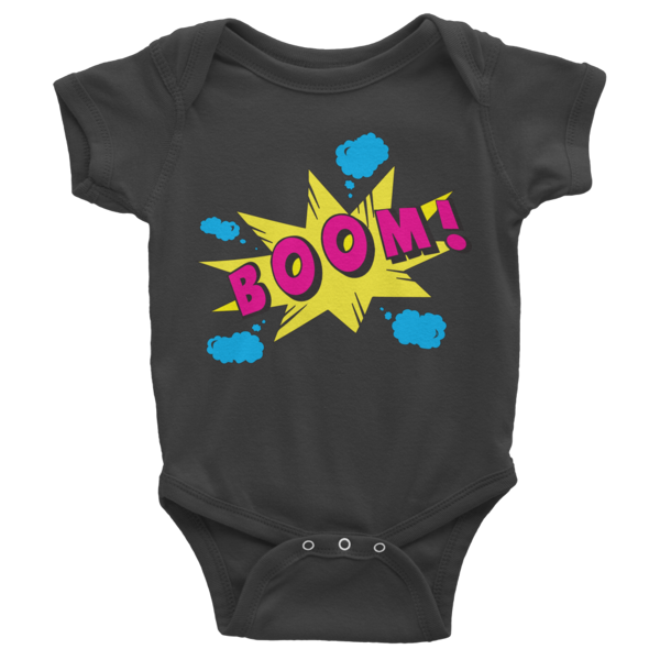 BOOM! Infant short sleeve onesie | Onsies | Eternal Weekend - 2