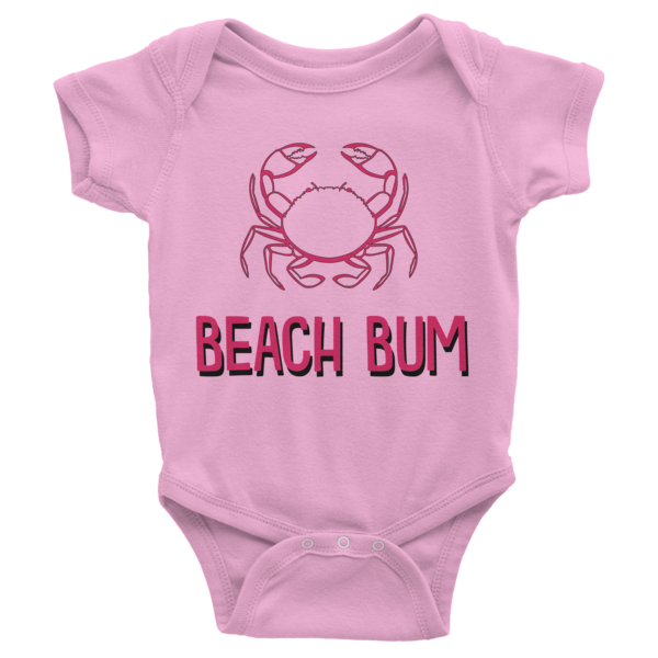 Beach Bum Infant short sleeve onesie | Onsies | Eternal Weekend - 4
