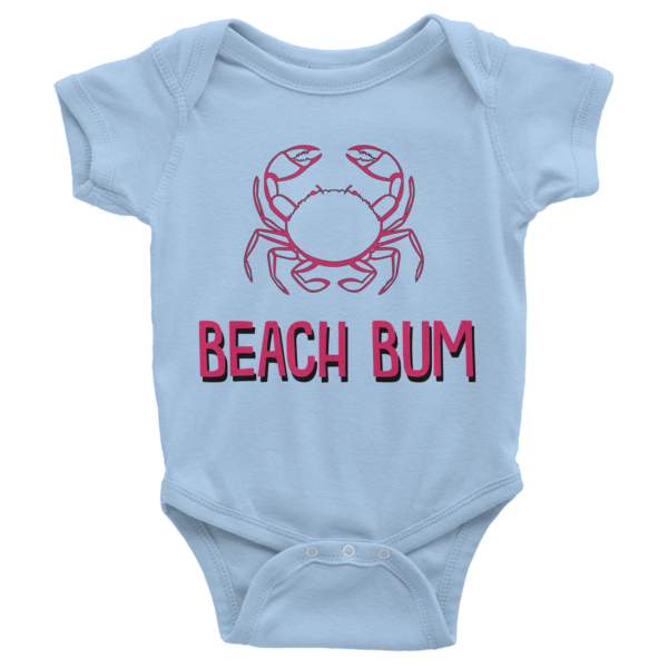 Beach Bum Infant short sleeve onesie | Onsies | Eternal Weekend - 2
