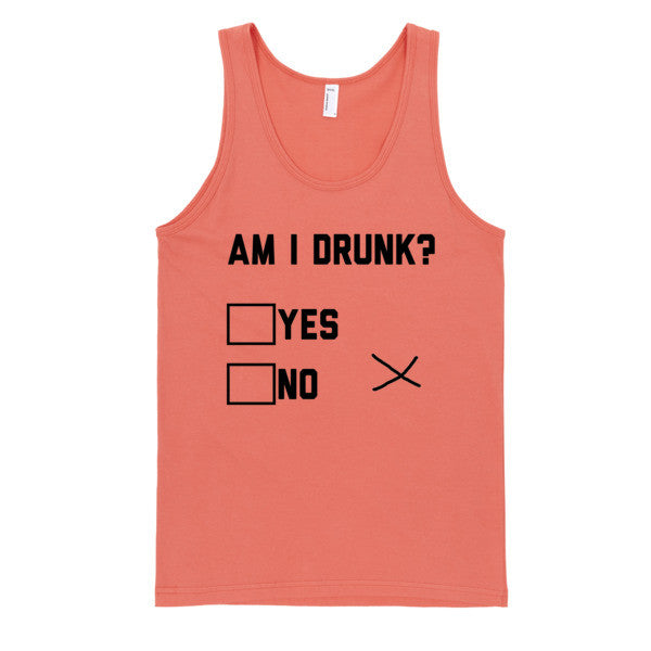 Am I Drunk Tank | Unisex White Tank | Eternal Weekend - 3