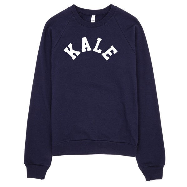 Kale Sweater | Unisex Crewneck Sweatshirt - Navy | Eternal Weekend - 1