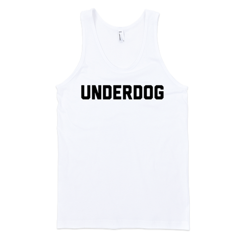 Underdog Tank | Unisex White Tank | Eternal Weekend - 1