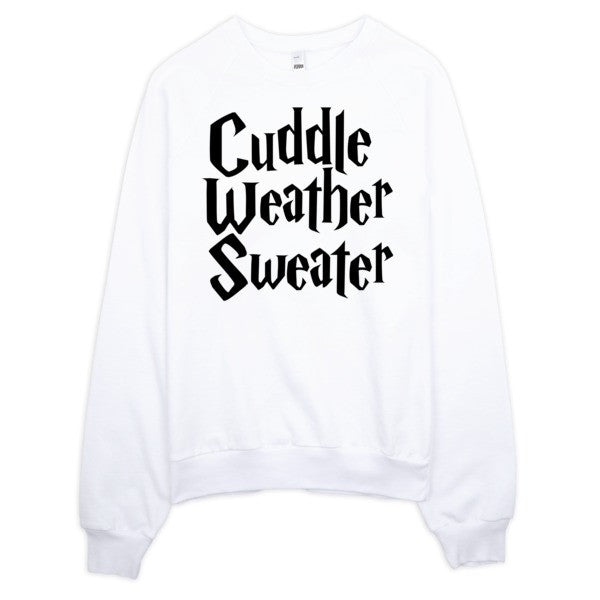 Cuddle Weather Sweater | Unisex Crewneck Sweatshirt Grey | Eternal Weekend - 2