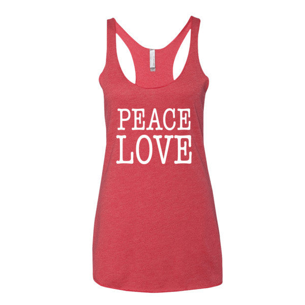 Peace Love Women's tank top | Women's Tank | Eternal Weekend - 5