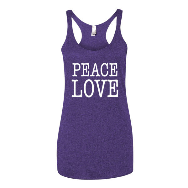 Peace Love Women's tank top | Women's Tank | Eternal Weekend - 3