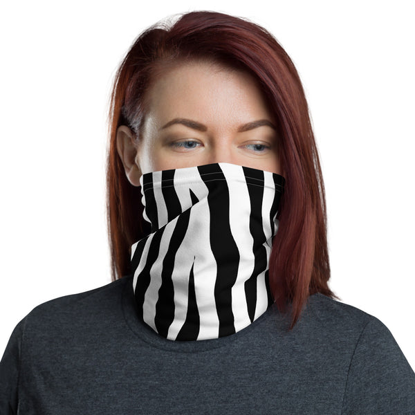 Zebra Neck Gaiter - Face Mask
