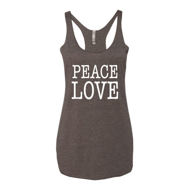 Peace Love Women's tank top | Women's Tank | Eternal Weekend - 2