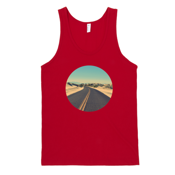 The Road To Freedom Tank Top | unisex coral Tank | Eternal Weekend - 5