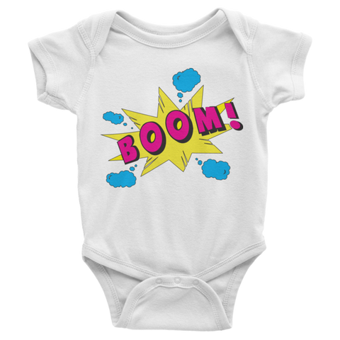 BOOM! Infant short sleeve onesie | Onsies | Eternal Weekend - 1