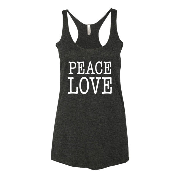 Peace Love Women's tank top | Women's Tank | Eternal Weekend - 1